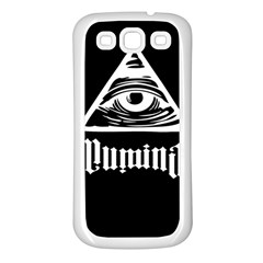 Illuminati Samsung Galaxy S3 Back Case (white)