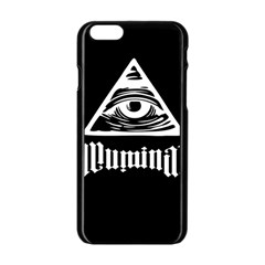 Illuminati Apple Iphone 6/6s Black Enamel Case by Valentinaart