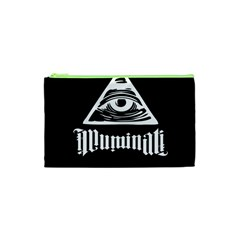 Illuminati Cosmetic Bag (xs) by Valentinaart