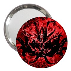 Scary Background 3  Handbag Mirrors by dflcprints