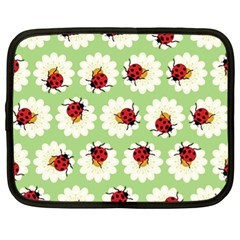 Ladybugs Pattern Netbook Case (xl)  by linceazul
