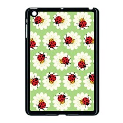 Ladybugs Pattern Apple Ipad Mini Case (black) by linceazul