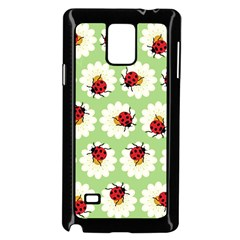 Ladybugs Pattern Samsung Galaxy Note 4 Case (black) by linceazul