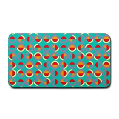 Semicircles And Arcs Pattern Medium Bar Mats by linceazul