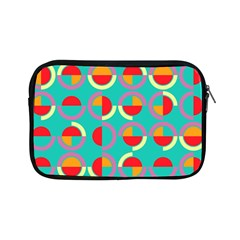 Semicircles And Arcs Pattern Apple Ipad Mini Zipper Cases by linceazul