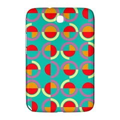 Semicircles And Arcs Pattern Samsung Galaxy Note 8 0 N5100 Hardshell Case  by linceazul