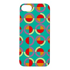 Semicircles And Arcs Pattern Apple Iphone 5s/ Se Hardshell Case by linceazul