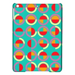 Semicircles And Arcs Pattern Ipad Air Hardshell Cases by linceazul