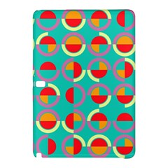 Semicircles And Arcs Pattern Samsung Galaxy Tab Pro 10 1 Hardshell Case by linceazul