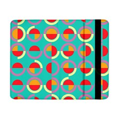 Semicircles And Arcs Pattern Samsung Galaxy Tab Pro 8 4  Flip Case by linceazul
