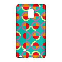 Semicircles And Arcs Pattern Galaxy Note Edge by linceazul