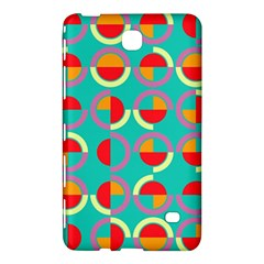 Semicircles And Arcs Pattern Samsung Galaxy Tab 4 (7 ) Hardshell Case  by linceazul