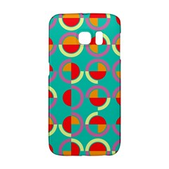 Semicircles And Arcs Pattern Galaxy S6 Edge by linceazul
