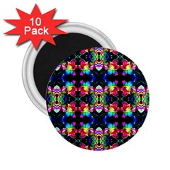Colorful Bright Seamless Flower Pattern 2 25  Magnets (10 Pack)  by Costasonlineshop