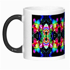 Colorful Bright Seamless Flower Pattern Morph Mugs by Costasonlineshop
