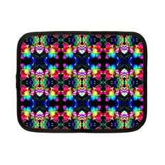 Colorful Bright Seamless Flower Pattern Netbook Case (small)  by Costasonlineshop