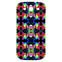 Colorful Bright Seamless Flower Pattern Samsung Galaxy S3 S Iii Classic Hardshell Back Case by Costasonlineshop