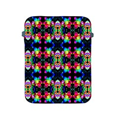 Colorful Bright Seamless Flower Pattern Apple Ipad 2/3/4 Protective Soft Cases by Costasonlineshop