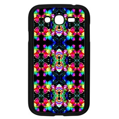 Colorful Bright Seamless Flower Pattern Samsung Galaxy Grand Duos I9082 Case (black) by Costasonlineshop