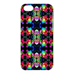 Colorful Bright Seamless Flower Pattern Apple Iphone 5c Hardshell Case by Costasonlineshop
