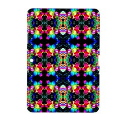 Colorful Bright Seamless Flower Pattern Samsung Galaxy Tab 2 (10 1 ) P5100 Hardshell Case  by Costasonlineshop