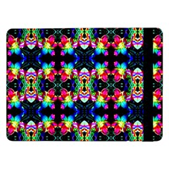 Colorful Bright Seamless Flower Pattern Samsung Galaxy Tab Pro 12 2  Flip Case by Costasonlineshop