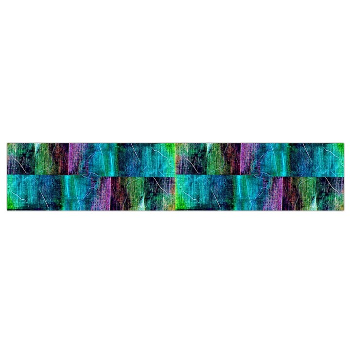 Abstract Square Wall Flano Scarf (Small)