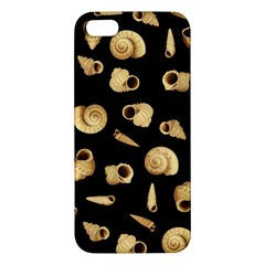 Shell Pattern Apple Iphone 5 Premium Hardshell Case