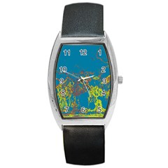 Colors Barrel Style Metal Watch by Valentinaart