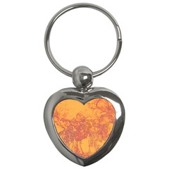Colors Key Chains (heart)  by Valentinaart