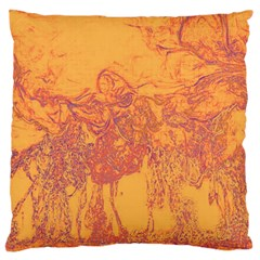 Colors Large Cushion Case (two Sides) by Valentinaart
