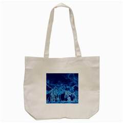 Colors Tote Bag (cream) by Valentinaart