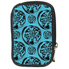 Turquoise Pattern Compact Camera Cases by linceazul