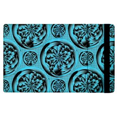 Turquoise Pattern Apple Ipad 3/4 Flip Case by linceazul