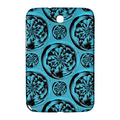 Turquoise Pattern Samsung Galaxy Note 8 0 N5100 Hardshell Case  by linceazul