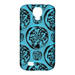 Turquoise Pattern Samsung Galaxy S4 Classic Hardshell Case (pc+silicone) by linceazul
