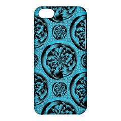 Turquoise Pattern Apple Iphone 5c Hardshell Case by linceazul