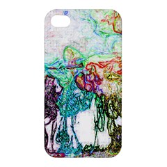 Colors Apple Iphone 4/4s Premium Hardshell Case by Valentinaart