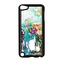 Colors Apple Ipod Touch 5 Case (black) by Valentinaart