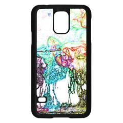 Colors Samsung Galaxy S5 Case (black) by Valentinaart