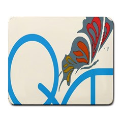 Butterfly Large Mousepads by Mariart