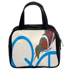 Butterfly Classic Handbags (2 Sides)