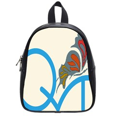 Butterfly School Bags (small)  by Mariart
