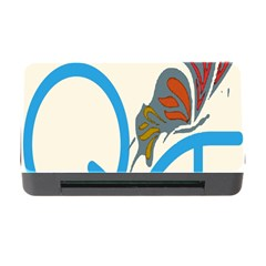 Butterfly Memory Card Reader With Cf by Mariart