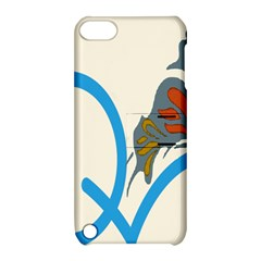 Butterfly Apple Ipod Touch 5 Hardshell Case With Stand by Mariart