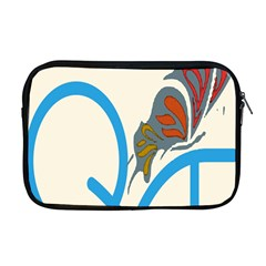 Butterfly Apple Macbook Pro 17  Zipper Case
