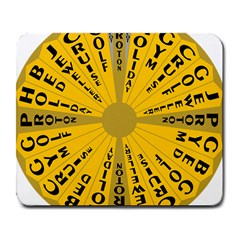 Wheel Of Fortune Australia Episode Bonus Game Large Mousepads by Mariart