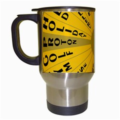 Wheel Of Fortune Australia Episode Bonus Game Travel Mugs (white) by Mariart