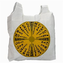 Wheel Of Fortune Australia Episode Bonus Game Recycle Bag (two Side)  by Mariart