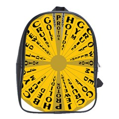 Wheel Of Fortune Australia Episode Bonus Game School Bags (xl)  by Mariart